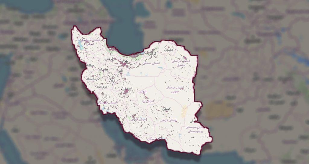 شهرهای تحت پوشش رایتل